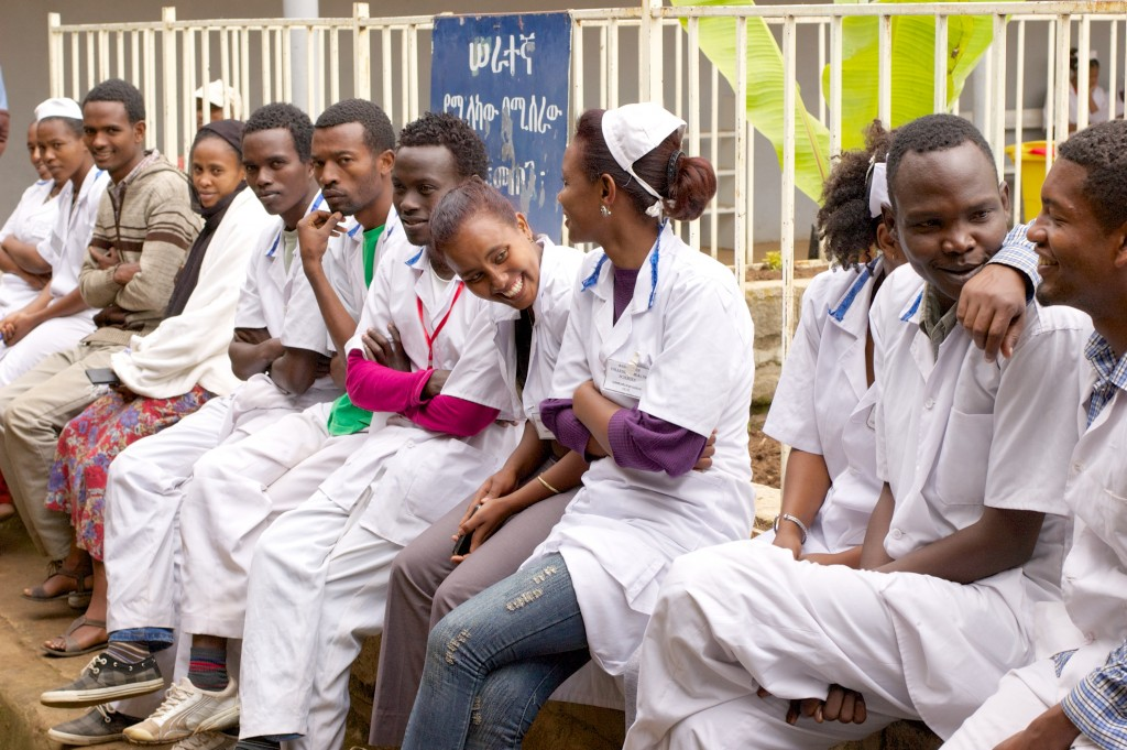 The HRH project has contributed to the graduation of 8,301 midwives, 10,462 health extension workers, 617 anesthetists and 624 other essential health workers .