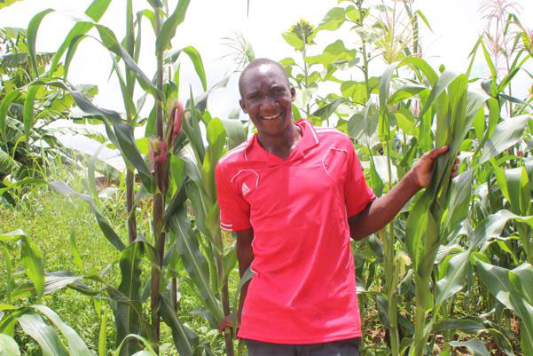 Daudi Nyagawa, a corn farmer in Itulahumba, Njombe, is one of 500,000 clients who have benefited from VMMC services provided by the Tanzanian government in partnership with USAID-supported programs and Jhpiego.