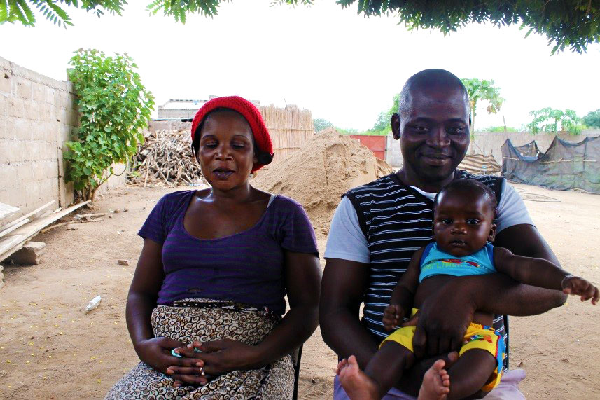 Engaging men in pregnancy and childbirth decisions benefits this Mozambique mom, baby and family.